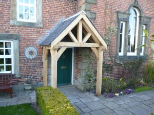 Oak Kit porch Derbyshire