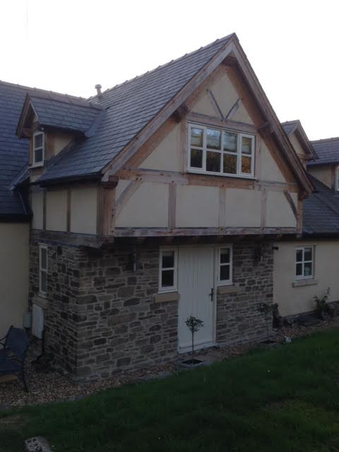 Oak and panel extension