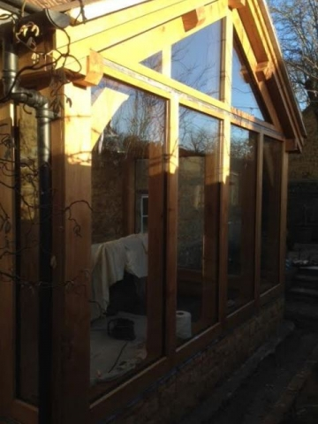 Oak conservatory somerset