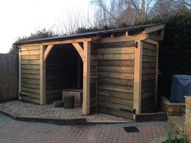 oak shed
