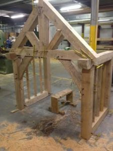 Oak Framed porch kit