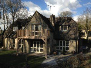 Oxfordshire Oak Balcony