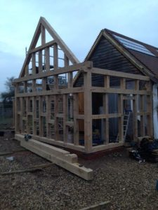 Oak Framed Extension Gloucestershire