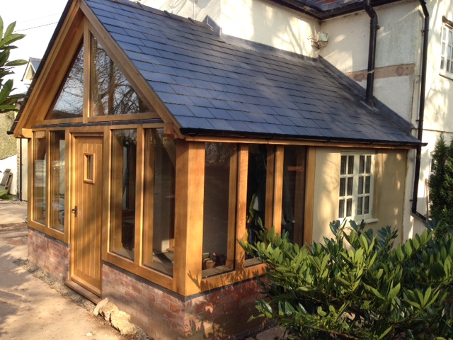 Oak Framed Conservatory Little Birch