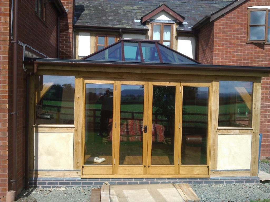 Oak framed Orangery in Herefordshire