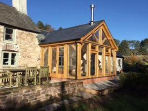Oak Framed conservatory Chepstow area