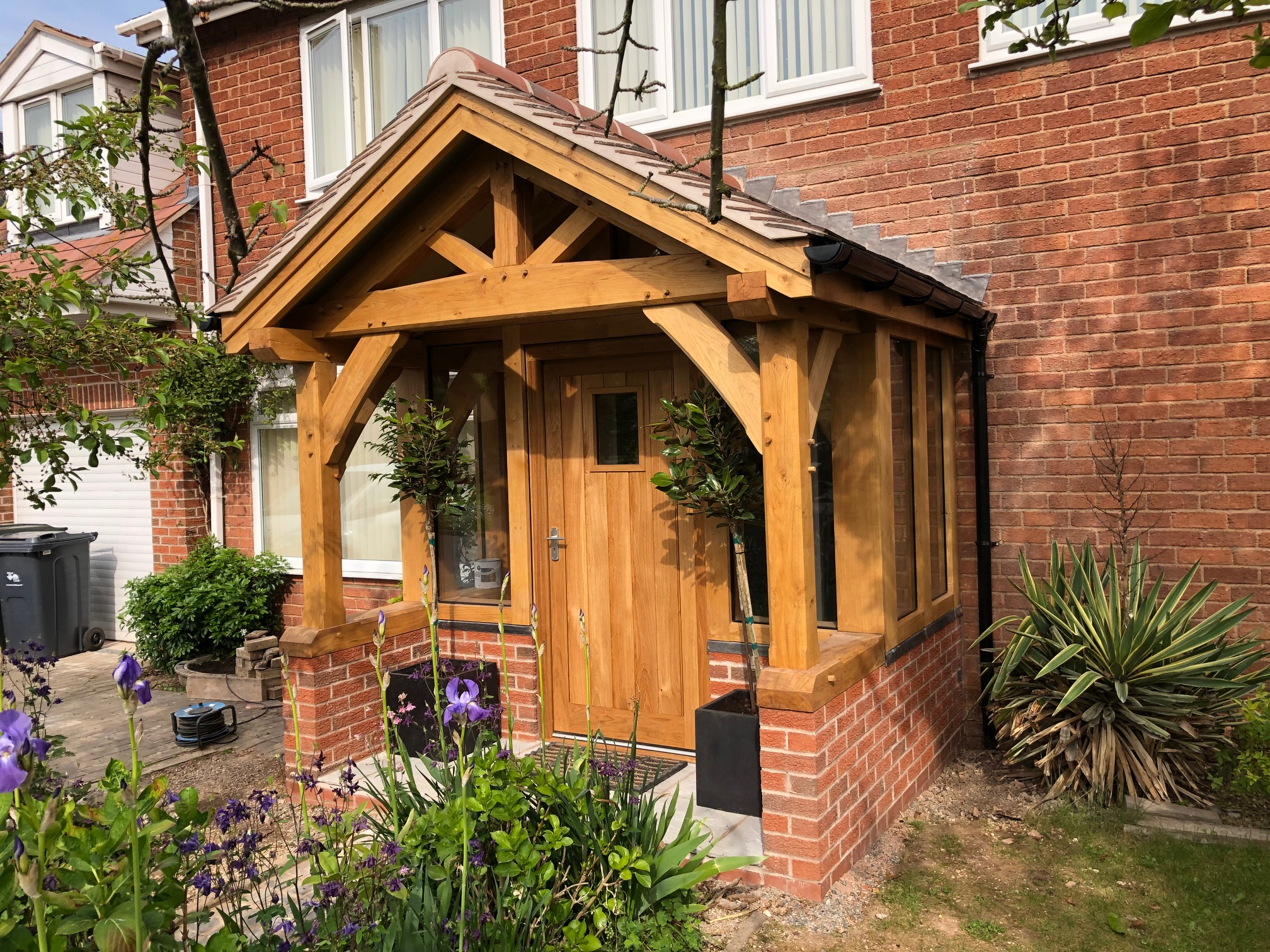 enclosed oak porch malvern 4 – Wye Oak on